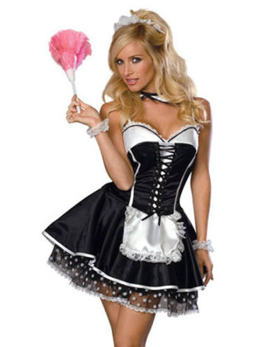 French Waitress Costume French Waitress Costume Suppliers And