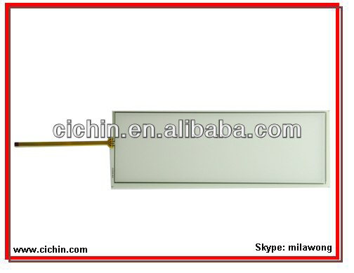 10 inch 4 wire resistive touch screen panel for touch monitors, with USB or RS232 controller