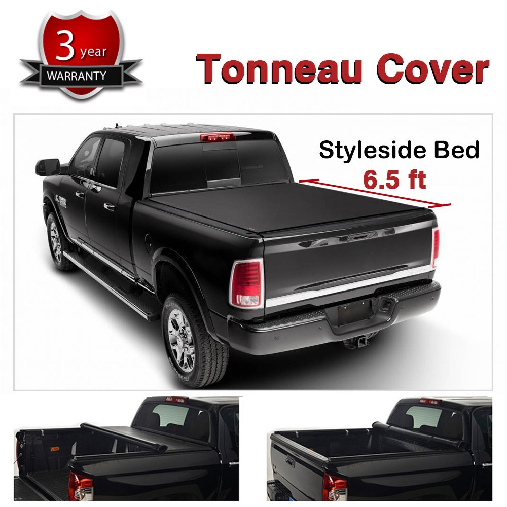 0cd8cee8c2b Get Quotations · Gevog Soft Roll-Up Tonneau Cover for 97-03 Ford F150 04  Ford