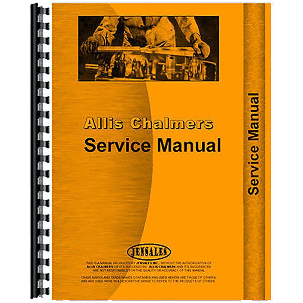 Get Quotations · New Service Manual Made for Allis Chalmers AC Motor Grader  Model U
