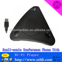 multi-functinal lightweight USB cable stylish echo eliminate conference telephone with clear voice 500
