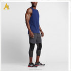 custome style men clothing tank tops blank gym fitness running for men