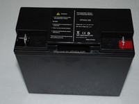Highpower 12v lithium ion car battery with 2000cycles lithium battery pack 12v 20ah