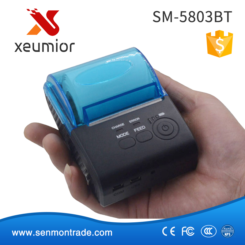 Manufacturers for Handheld 58mm Portable Bluetooth Receipt Printer Android & IOS Mobile Phone SM-5803BT