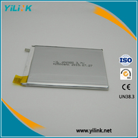 Lithium polymer battery 406085 3.7V 2500mAh rechargeable li-ion battery RC remote control plane, RC ELECTRONICS
