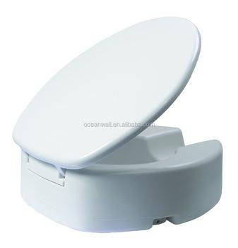 Verhoogde Wc Bril.Duroplast Verhoogde Toiletbril Met Cover Voor Gehandicapten Mensen Buy Toiletverhoger Stoel Voor Gehandicapten Wc Bril Product On Alibaba Com