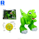 Hot sale 2018 remote control toy plastic dinosaur with spray and sound