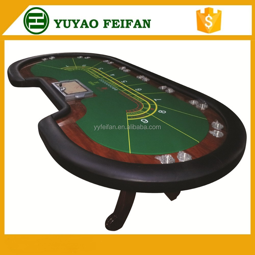 Customized Poker Table Professional Poker Table With Pedestal