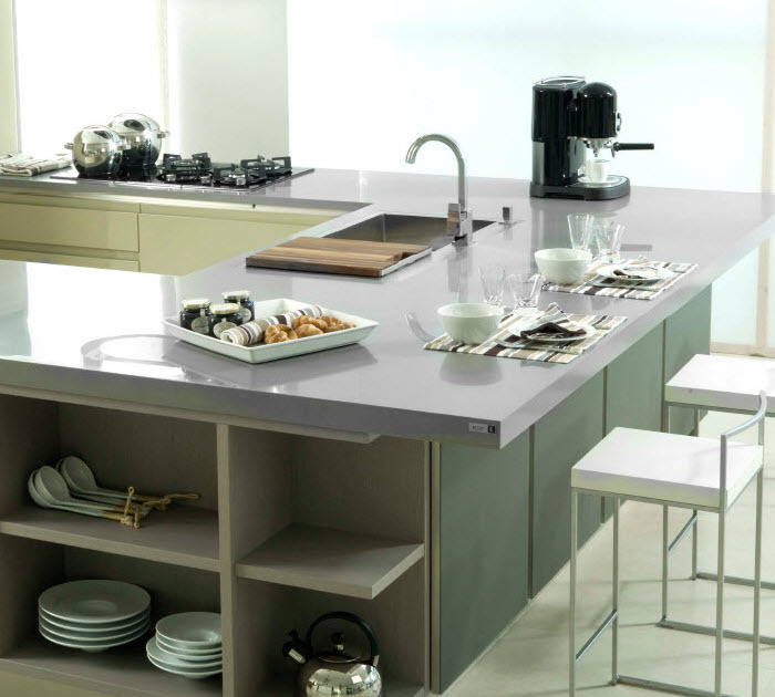 kitchen counter topcorian kitchen center tablekitchen top - Corian Kitchen Table