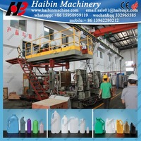 pvc bottle extrusion blow moulding machine in chin HTII-2L
