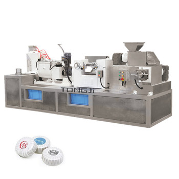 Low capacity semi-automatic small hotel soap making machine price
