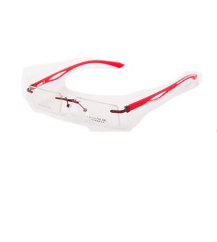 1b7e6222f Armação De Óculos De Armação Tr90 Sem Aro - Buy Quadro Sem Aro ...