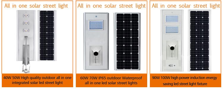 ip65 15w integrated solar street light