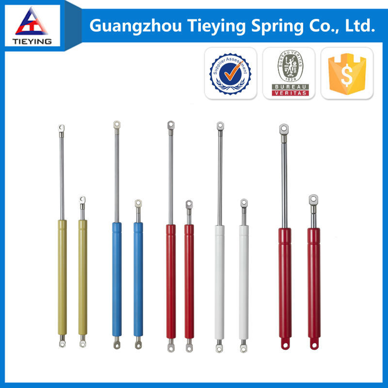 Custom furniture hardware 80 100 120 500 N piston gas spring