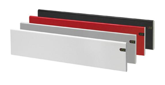 Adax neo pannello di termoconvettori elettrici basso profilo del modello 200mm altezza - Termoconvettore elettrico da parete ...