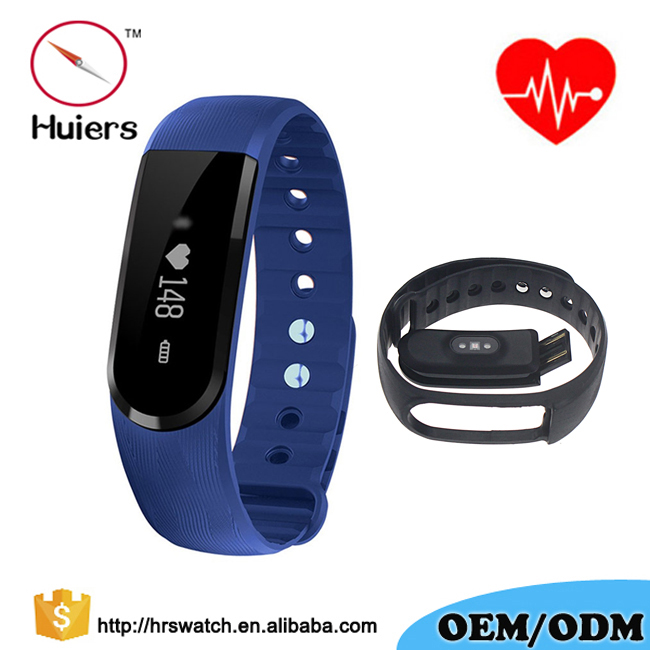 New TPU Strap Touch Screen Bluetooth 4.0 Sport HR Wireless Health Activity Wristband