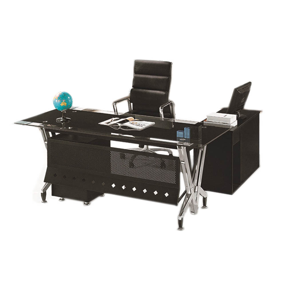 PT-D044 Office furniture in riyadh high end office desk godrej glass office desks furniture