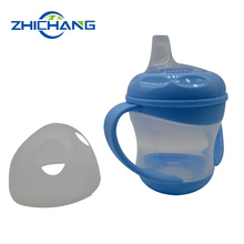Cheap Price Plastic Silicone Sippy Cup For Baby With Bottle Nipple Lid