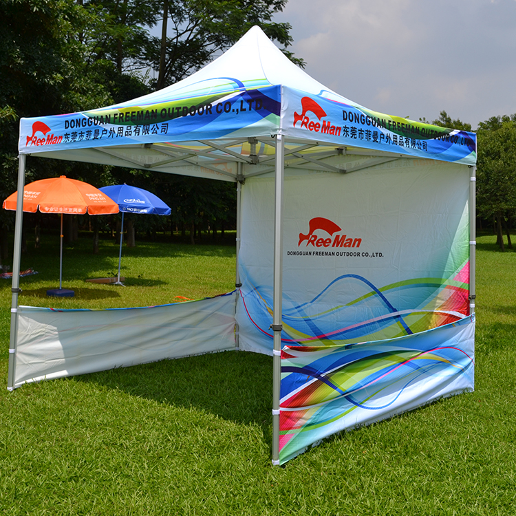 Outdoor Booth Pop Up Canopy Tent with Back Wall & Outdoor Booth Pop Up Canopy Tent With Back Wall - Buy 6x6 Canopy ...