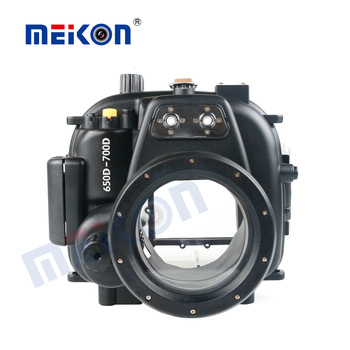 meikon newest design waterproof case for canon 750d
