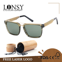 LS6004-C4 vintage unisex polarized sunglasses 2017