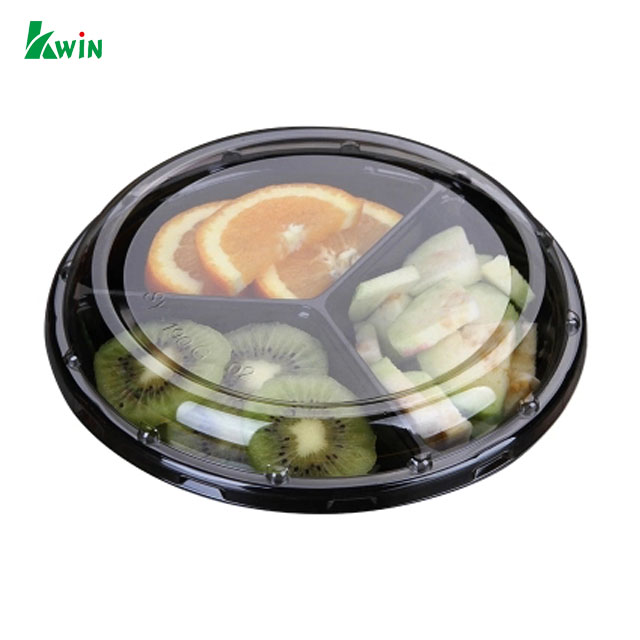 Printing Black Cheap Airline Food Foam Large Ps Plastic Strawberry Fruit Vegetable Tray