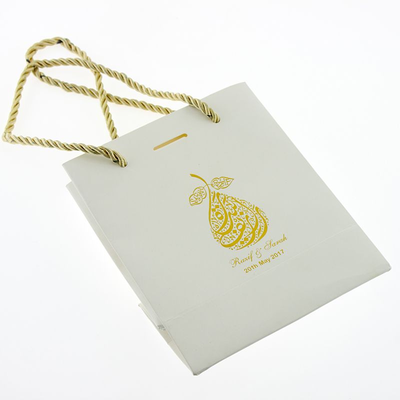 FSC Wholesale Environmental Paper Shopping Bag with Rope