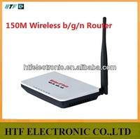 full test OEM 150M one external antenna fast wireless N 4p ap broadband belink Router