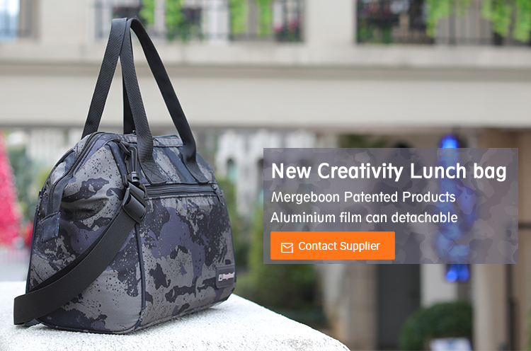 Portable Leakproof Insulated Lunch Box Tote Bag