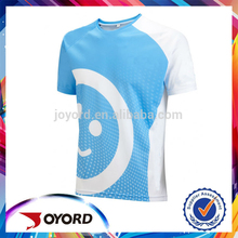 Full sublimated print tech t shirt for wholesale.