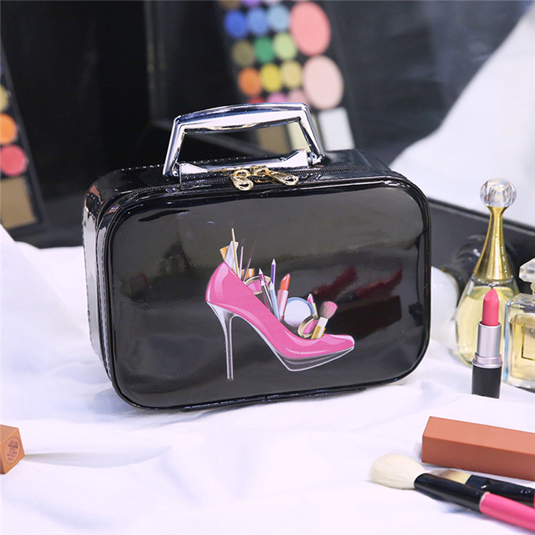 Wholesale custom pouch makeup organizer luxury cosmetic bag for <strong>travel</strong>