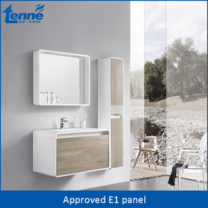 Tenne modern design plywood vanity bathroom
