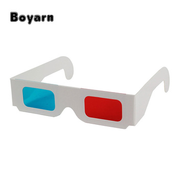 d49465377b Universal Paper Anaglyph 3D Glasses Paper 3D Glasses View Anaglyph Red Cyan  Red Blue 3D