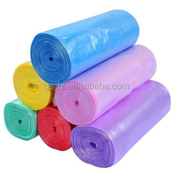 Hot Selling Chinese Products HDPE Disposable Car Trash Bag