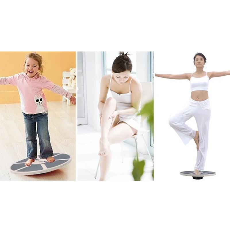 Custom Yoga Wooden Exercise Balance Cushion Board,Balance Board Wood