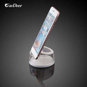 China cheap price multi-purpose rounded plastic cell phone display holder for retail store experience