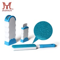 Custom Logo double side pet hair remover reusable pet fur remover