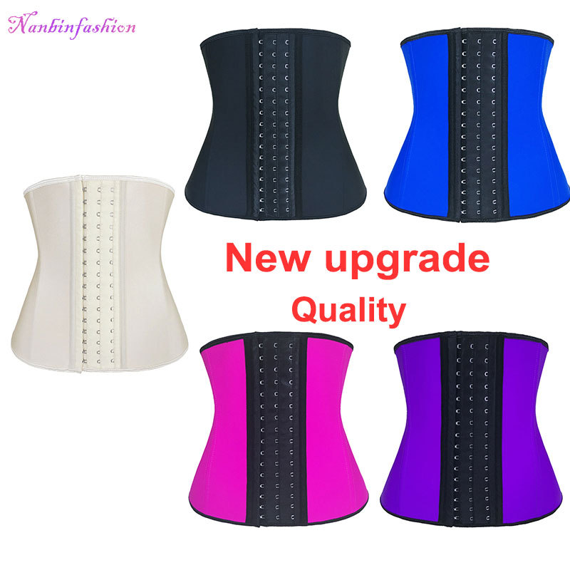 2019 Hot Selling Negen Steel Bone Latex Taille Trainer Corset