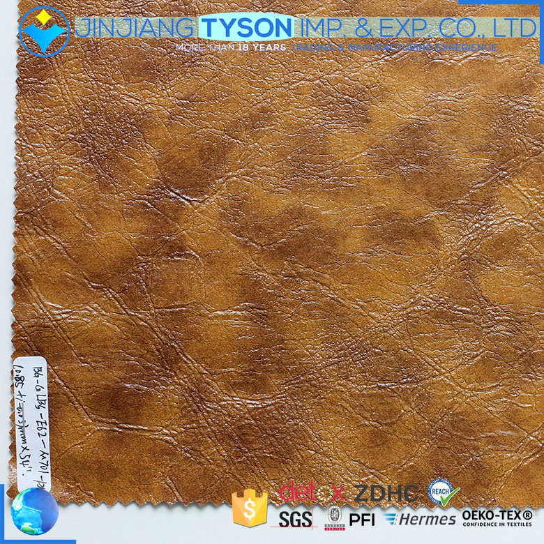 Factory customized 0.9mm pvc synthetic artificial leather materials for shoes