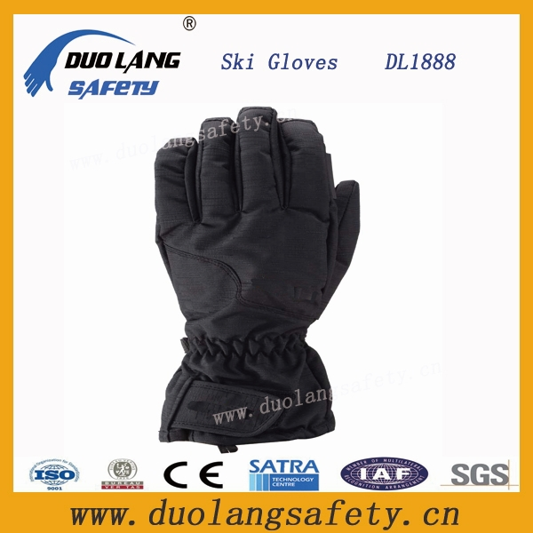 Ladies Novelty C40 Snow yellow Ski Gloves for Sale