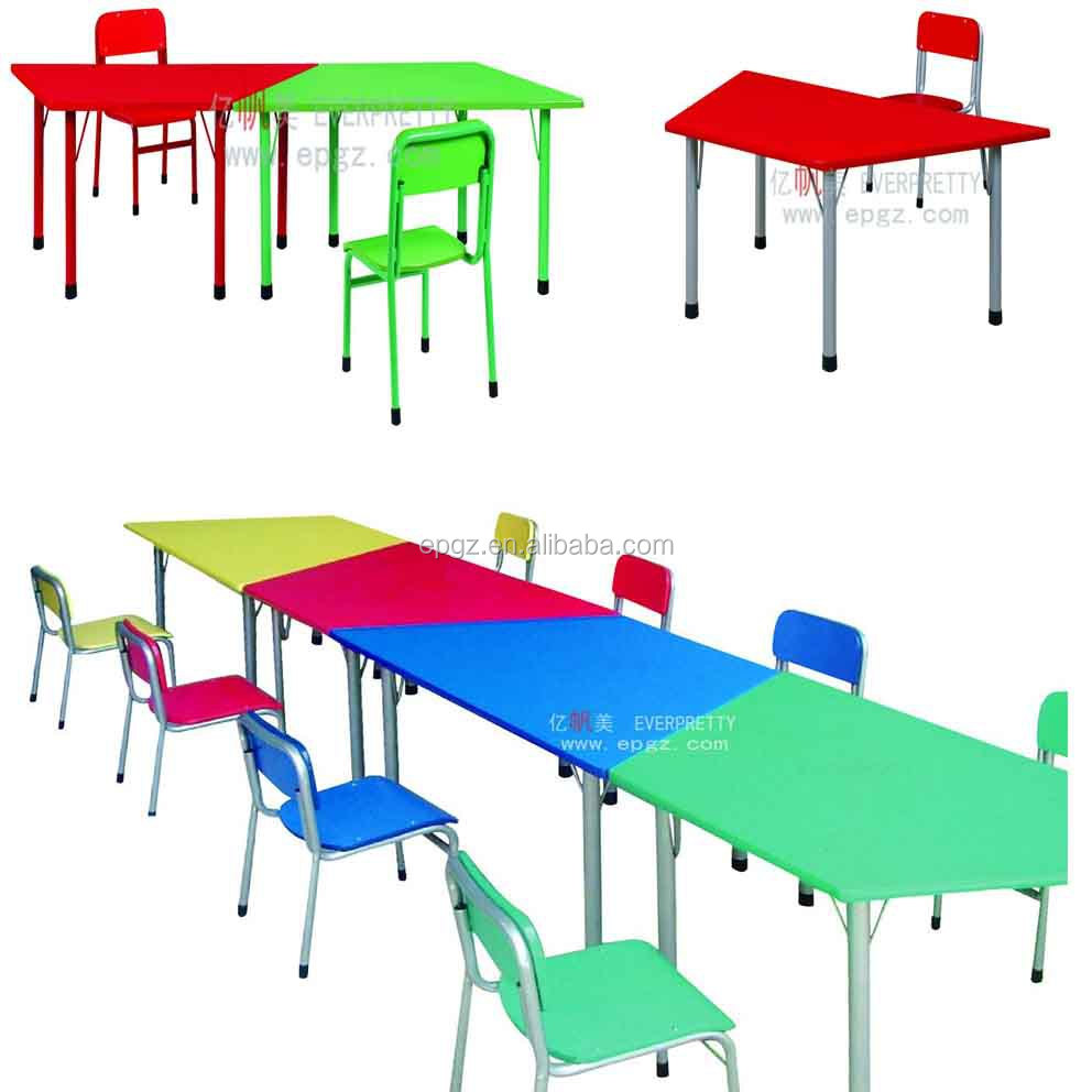 Kids Study Table And Chair Set For Children Study Of Nursery School