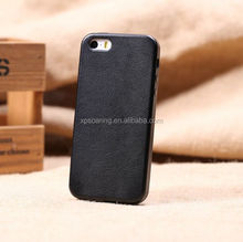 Hot selling! For iphone 5G 5S Genuine leather case back cover