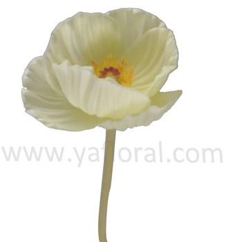 Superior quality artificial poppy flowers wholesale pu white superior quality artificial poppy flowers wholesale pu white artificial flower blue poppy papaver somniferum mightylinksfo