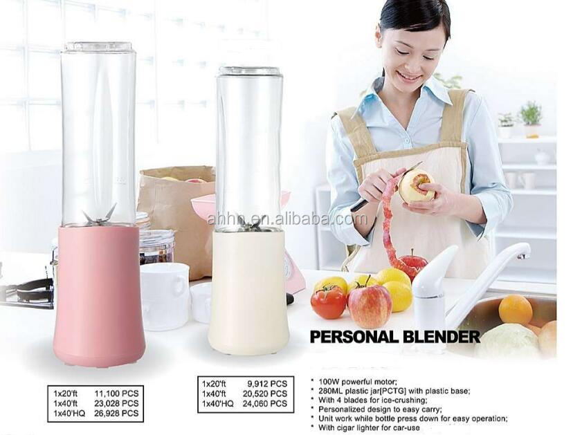 portable mini shaker blender smoothie makers 100W