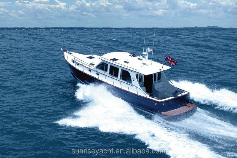 SUNRISE 38 Fiberglass Luxury Yacht For Sale Small China