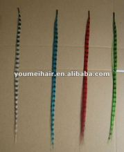 2012 HOT SALE USA Synthetic Feather Hair Extension Wholesale