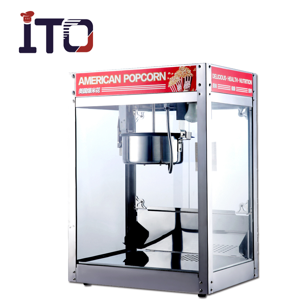 SI-1999 Desk Top Automatic Industrial Professional Hot Air Sweet Mushroom Popcorn Machine