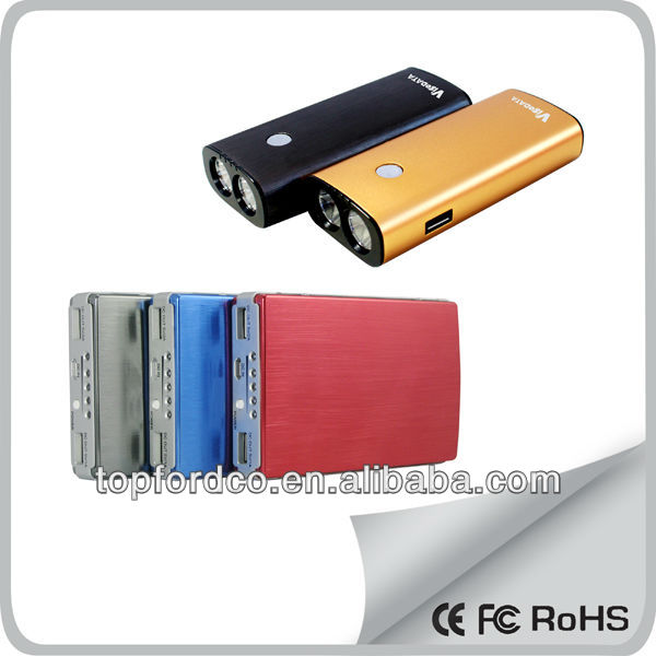 Portable Power Bank for Digital Devices like Smartphone, iPad and Camera