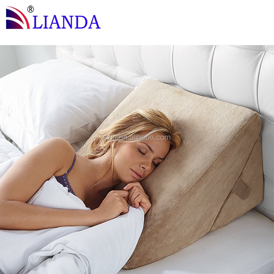 can be positioned on sofa bed or even floor position pillow