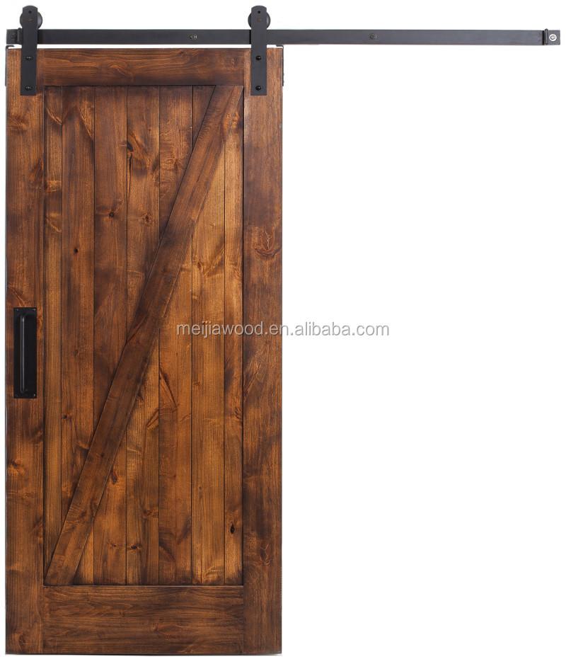 Superbe Rustica Simple Z Sliding Barn Door Slabs With Barn Door Hardware   Buy  Alder Wood Door,Interior Solid Wooden Doors,Interior Solid Pine Door  Product On ...